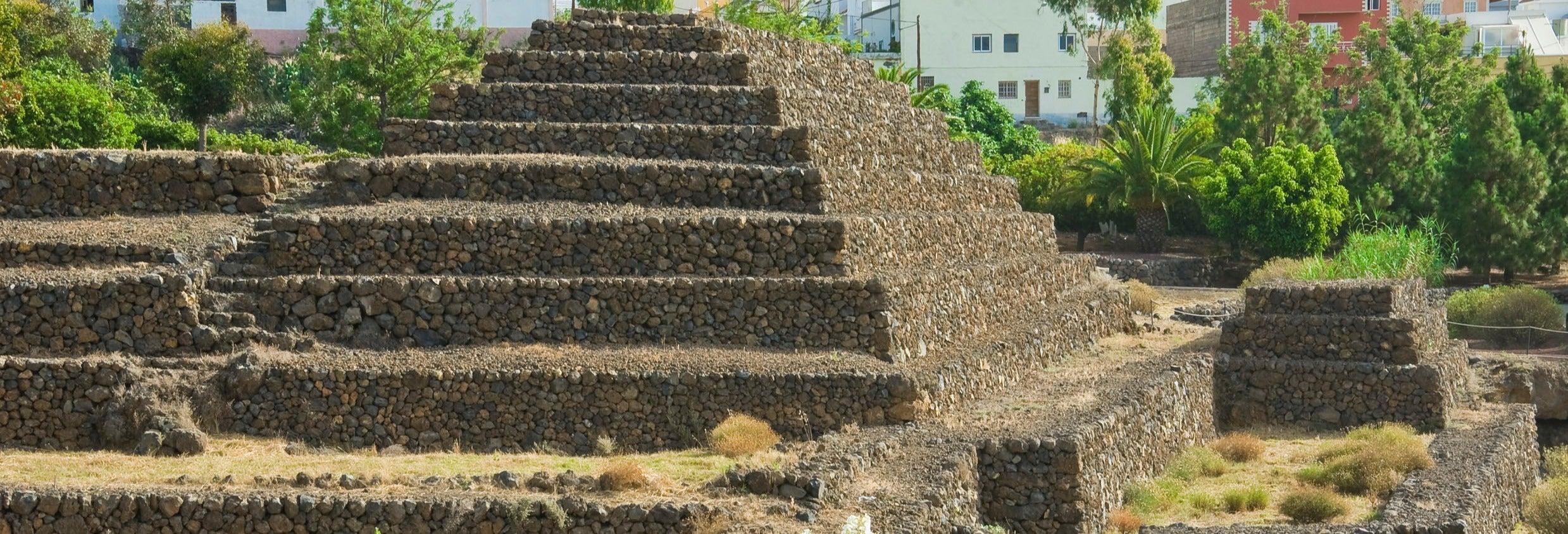 Ingresso das Pirâmides de Güímar