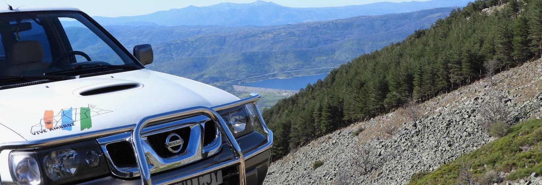 Tour en 4x4 por el valle del Ambroz