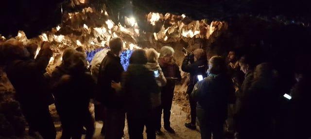 Visita guiada por las minas de Lapis Specularis