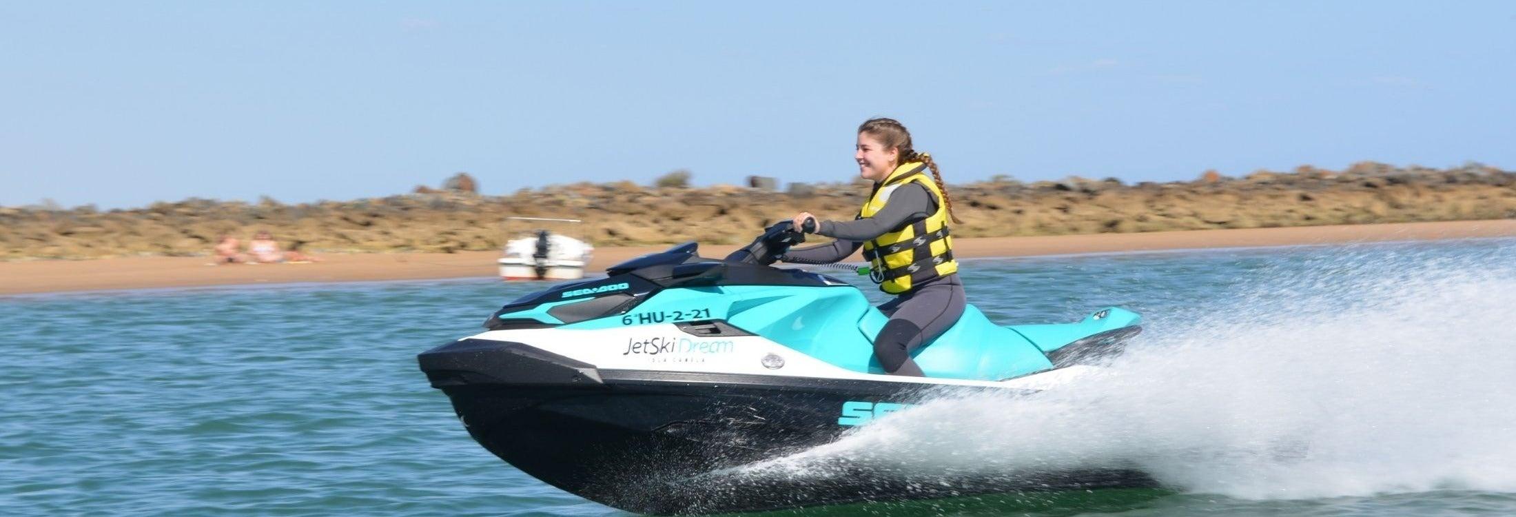 Tour en moto de agua por Isla Canela