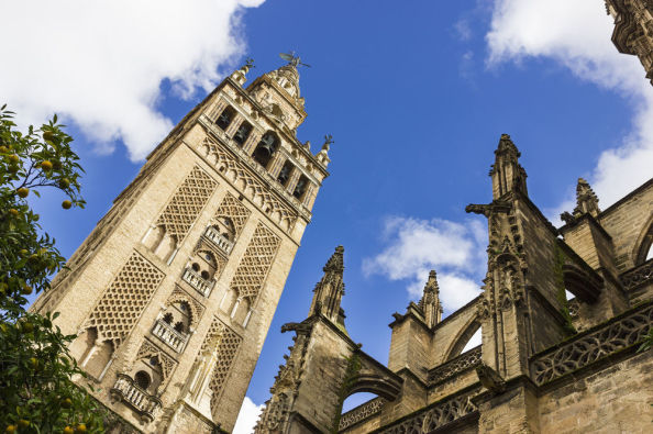 The Giralda, the belltower of the Cathedral