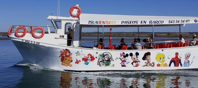 Paseo en barco por la ría de Isla Cristina