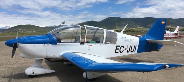 Balade en petit avion à Jaca et aux Pyrénées