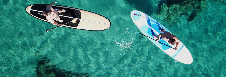 Balade en paddle à Jávea