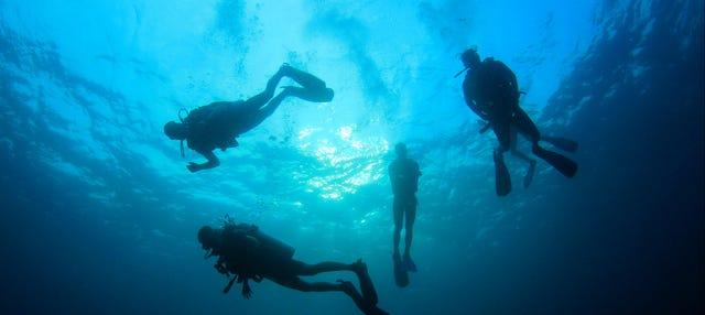 Bautismo de buceo en La Ametlla de Mar