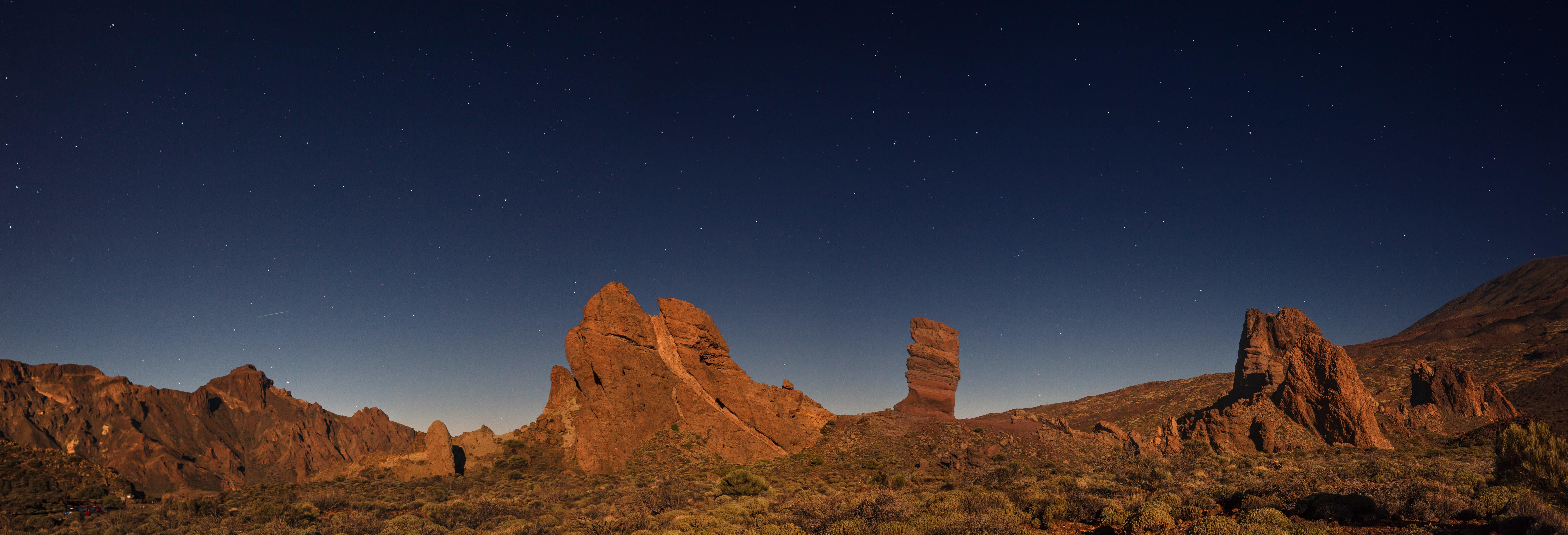 Excursion nocturne au parc national du Teide