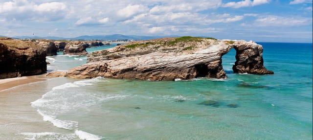 Excursión a la playa de Las Catedrales y Lugo