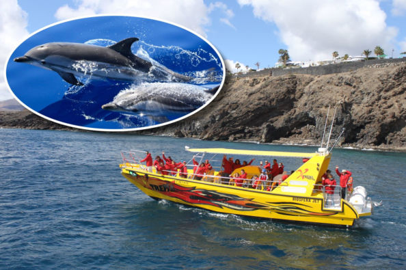 A boat trip on the waters of Lanzarote