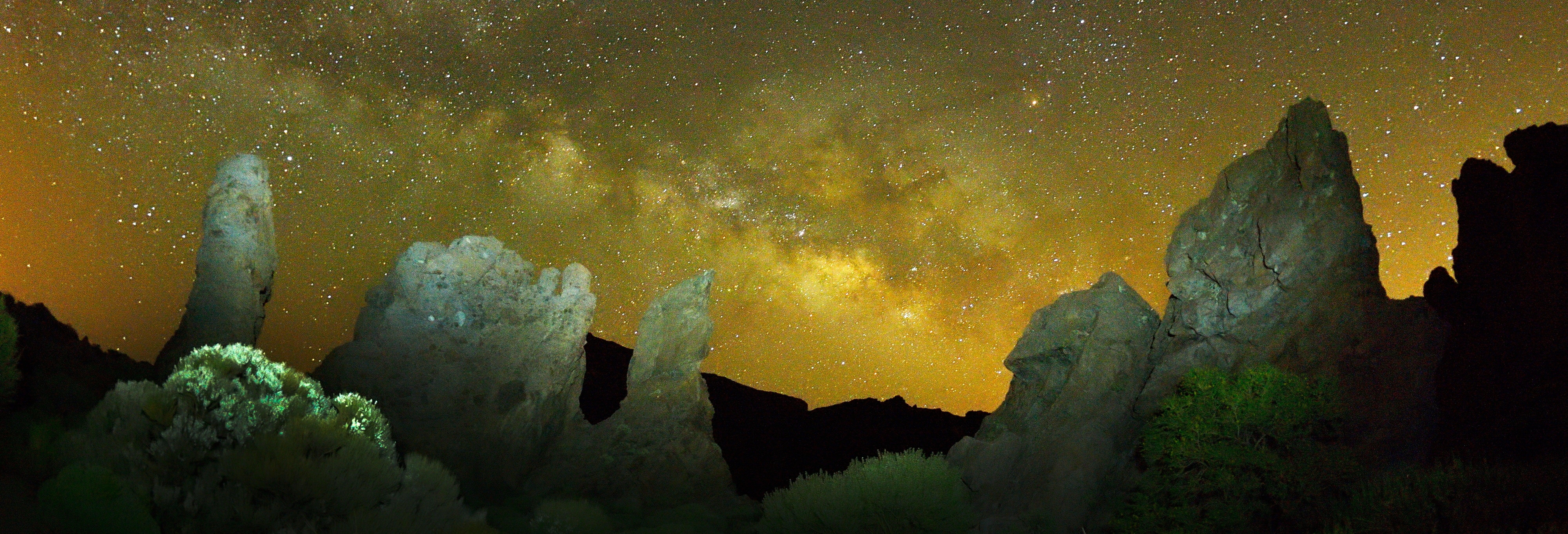 Senderismo nocturno por las Cañadas del Teide