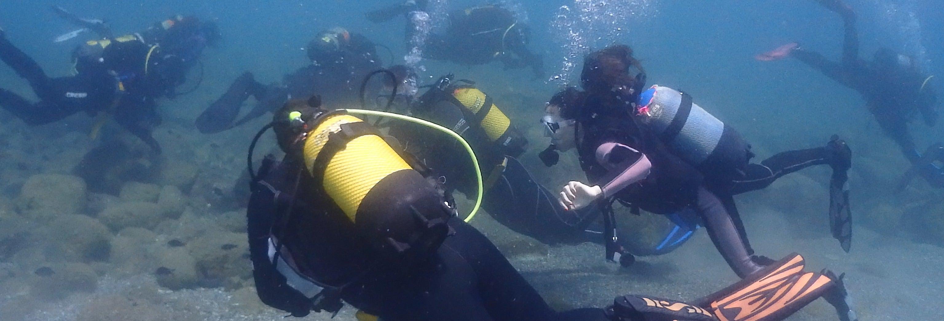Curso de buceo PADI Open Water en Las Negras
