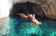 Kayak en el Cabo de Gata