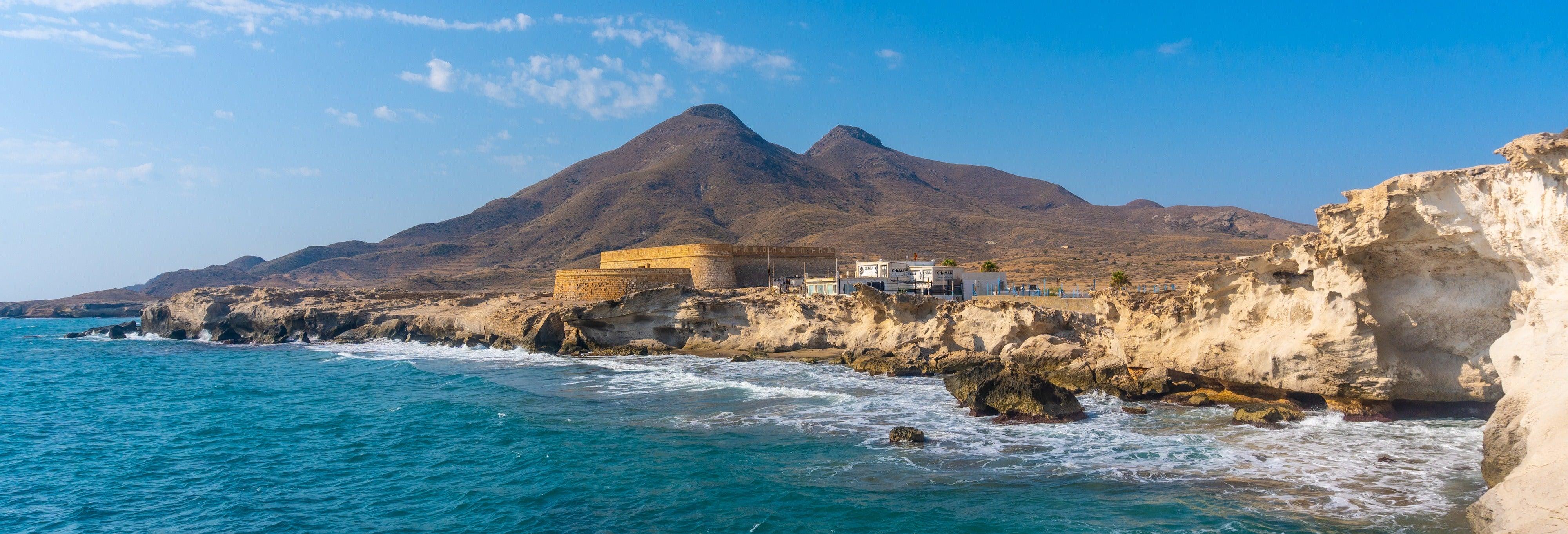 Kayak a Cabo de Gata