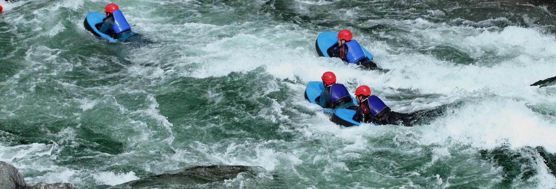 Hidrospeed en el río Noguera Pallaresa
