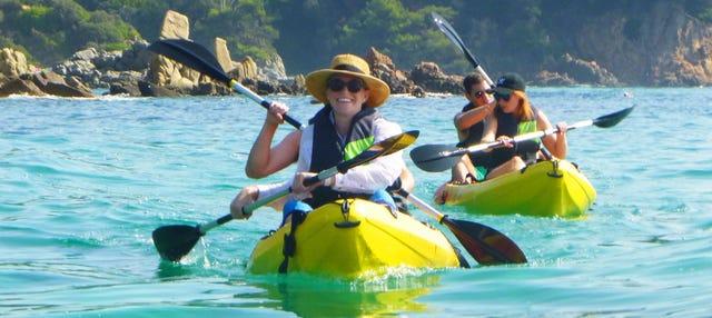 Tour en kayak hasta la cala S'Agulla