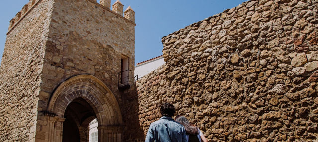 Entrada al Castillo de Lorca