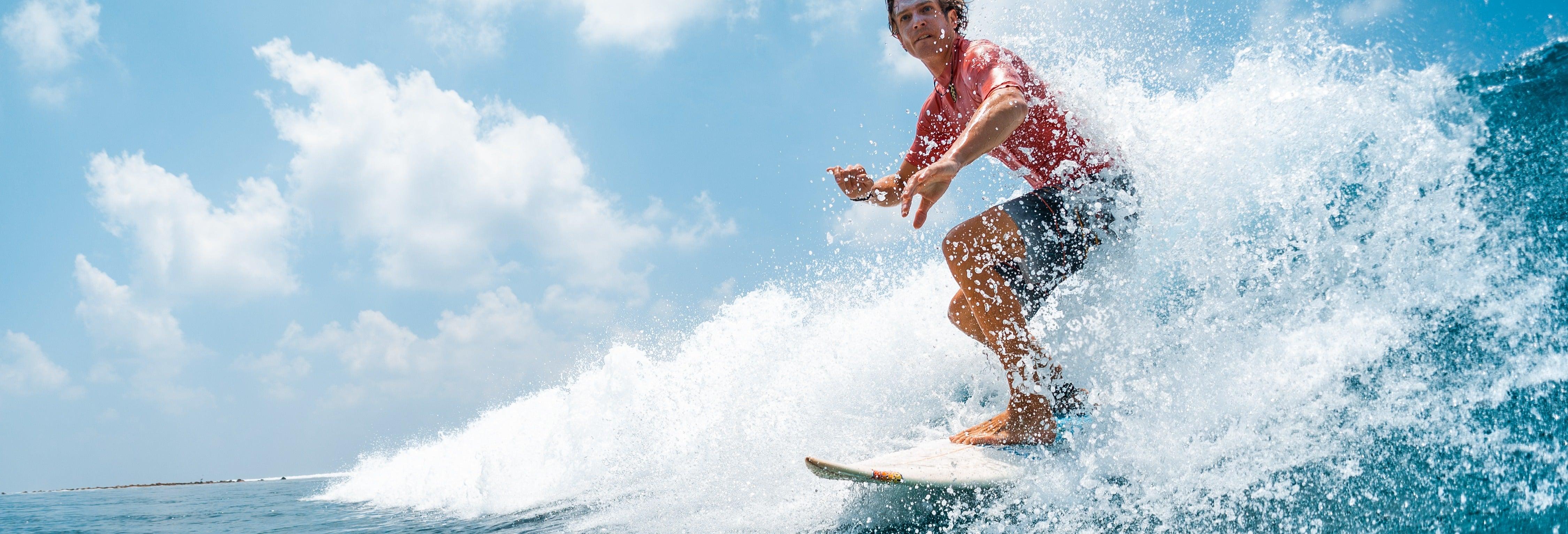 Curso de surfe em Loredo