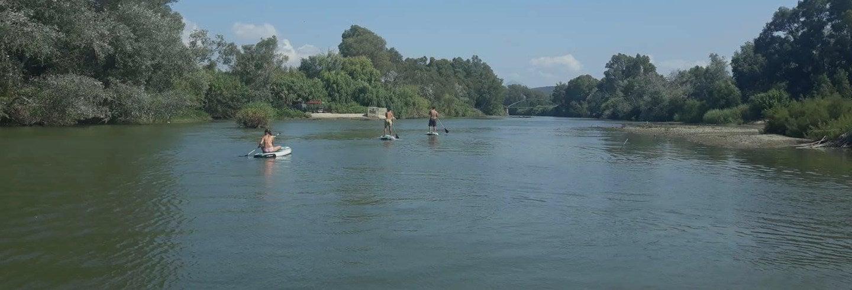 Tour en paddle surf por el río Palmones
