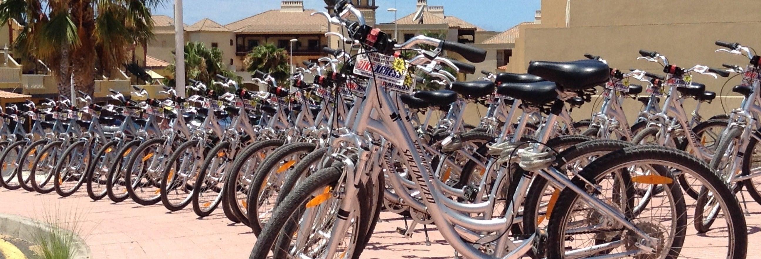 Alquiler de bicicleta en el sur de Tenerife
