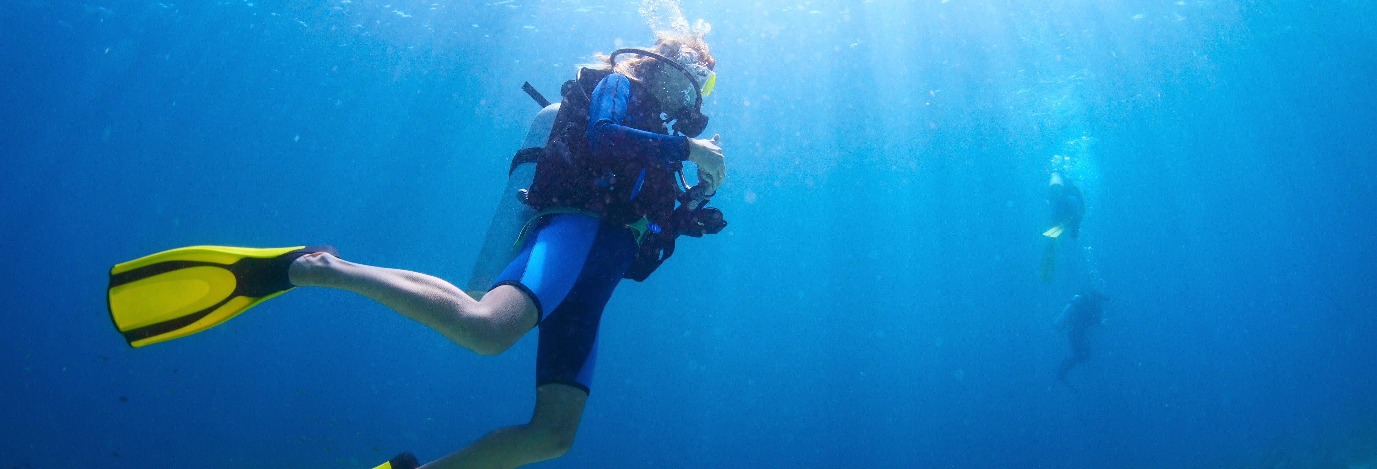 Curso de buceo PADI Open Water en Los Cristianos