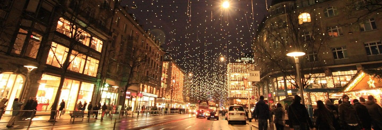 Autobús navideño por Madrid
