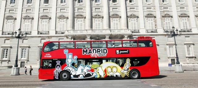 Madrid Hop On Hop Off Bus