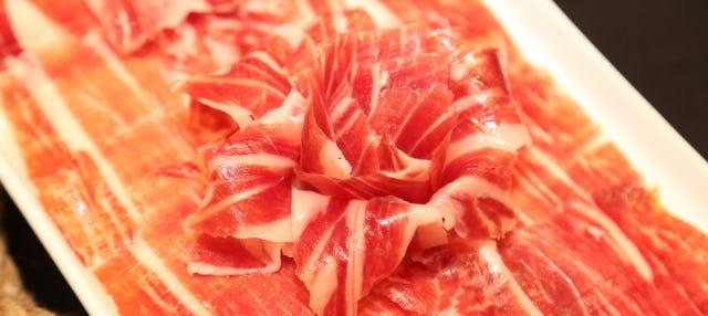 Degustación de productos ibéricos