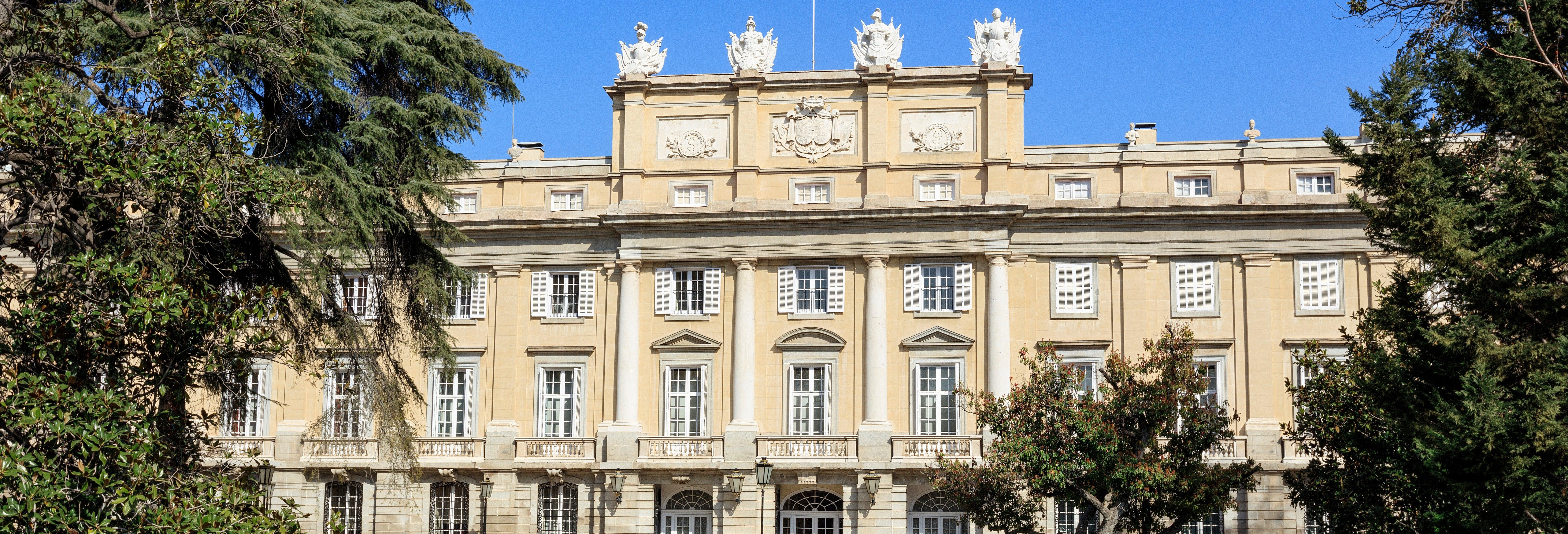 Entrada al palacio de Liria