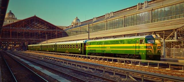 Excursión a El Escorial en el tren de Felipe II