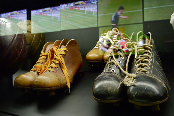 Anciennes chaussures du Real Madrid