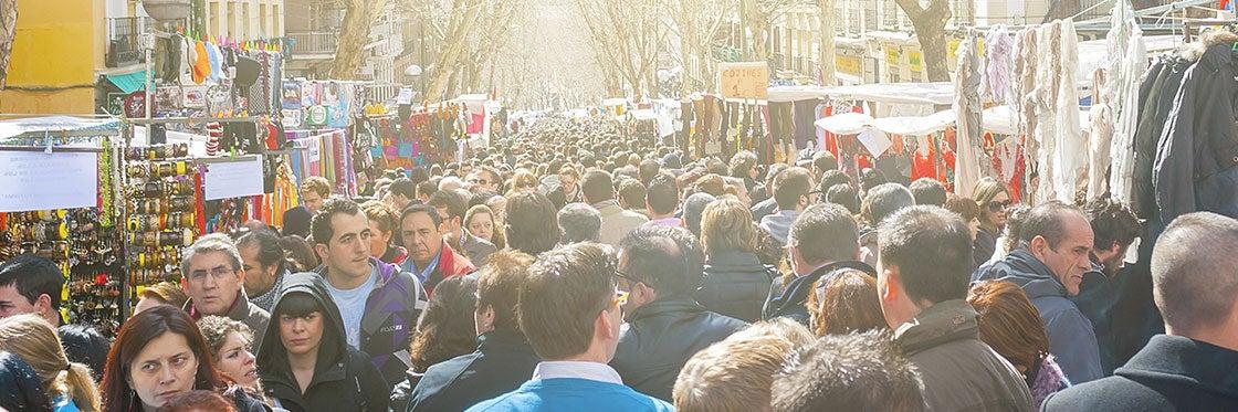 Le Rastro de Madrid