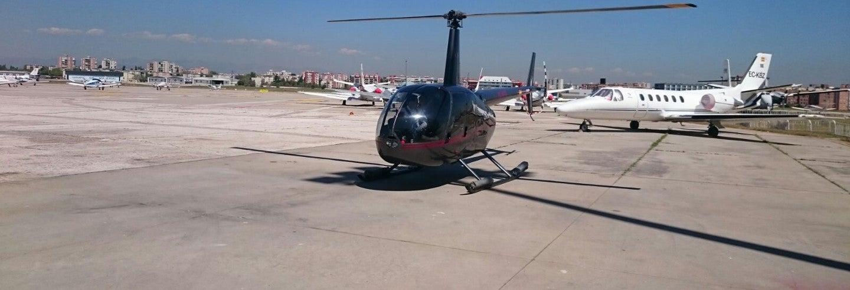 Paseo en helicóptero por Madrid