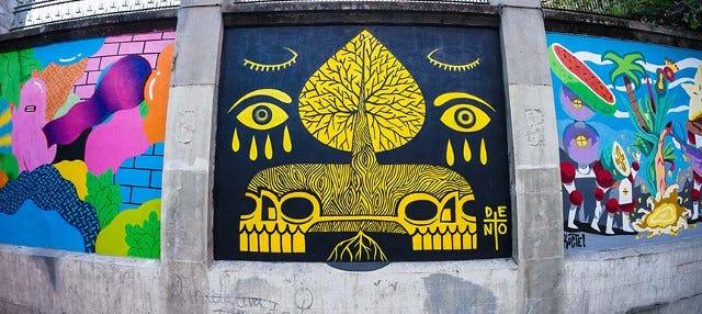 Tour do grafite por Madrid