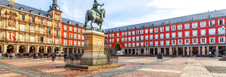 Tour a pé por Madrid