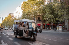Tour en tuk tuk por Madrid