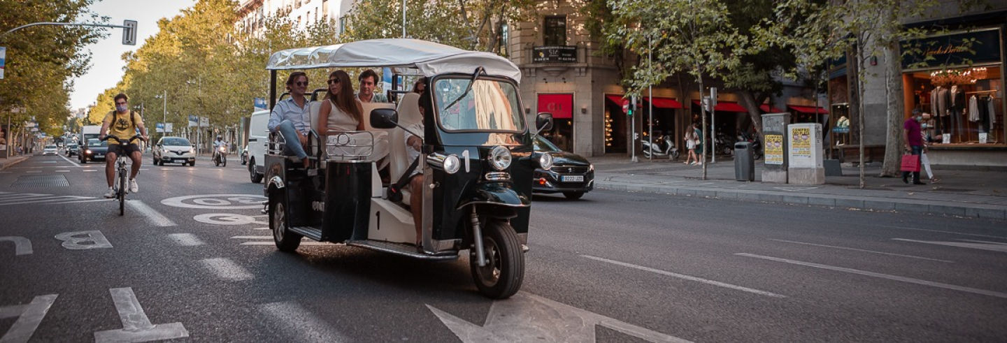 Madrid Tuk Tuk Tour
