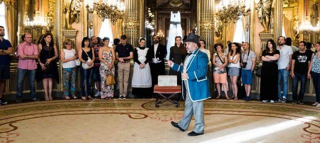 Visita teatralizada del Palacio de Linares