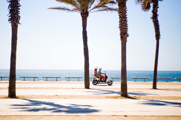 Discovering Menorca on a motorcycle