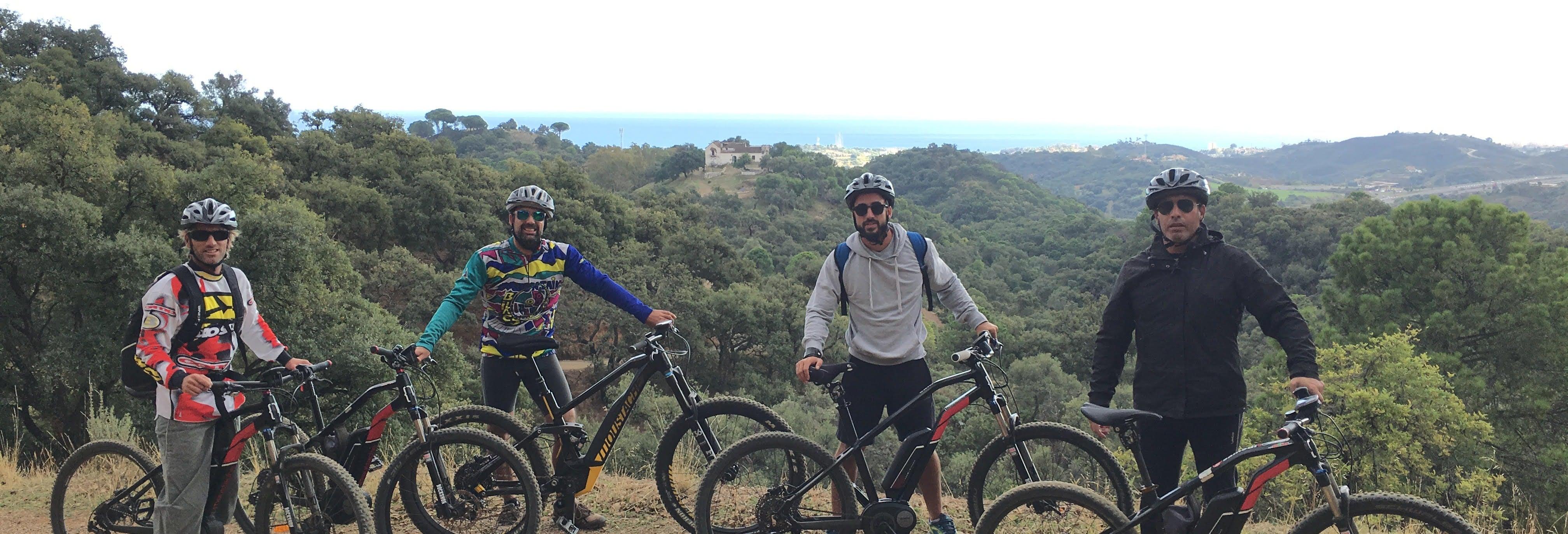 Visite à vélo électrique du Parc de la Conception