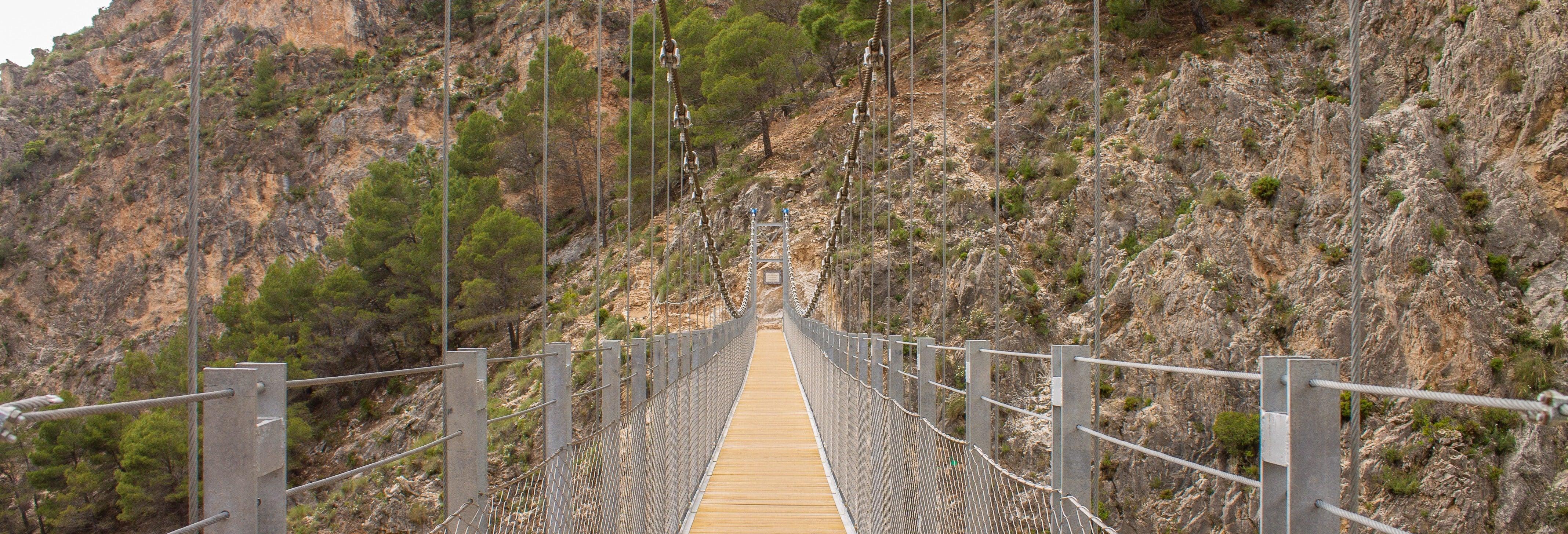 El Saltillo Gorge & White Village Hiking Tour