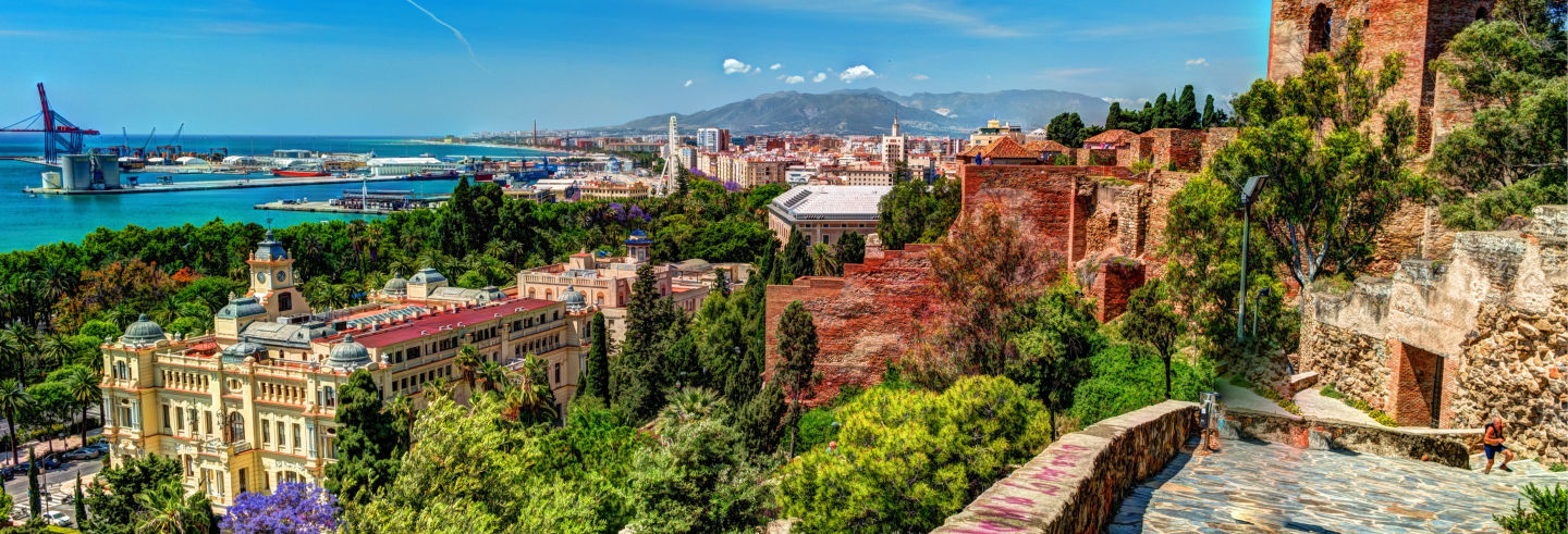Free tour por los miradores de Málaga ¡Gratis!