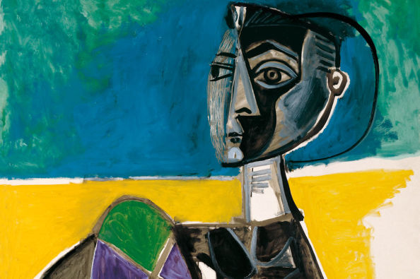 Femme assise, quadro del Museo Picasso