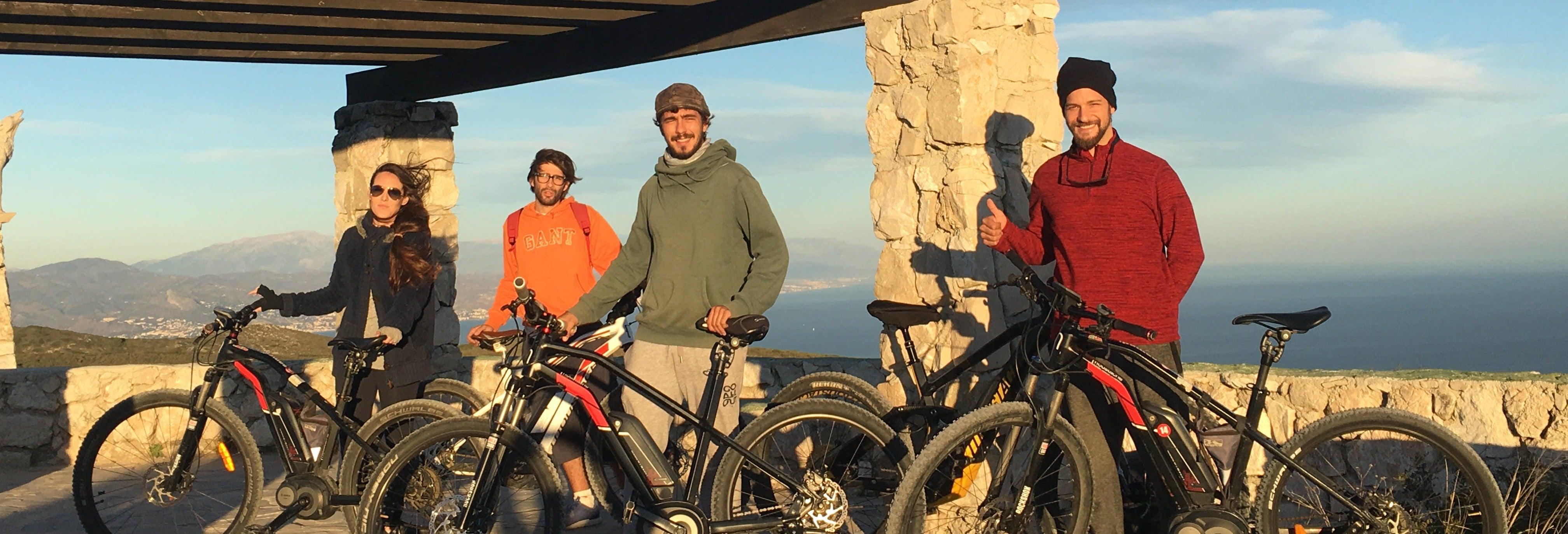 Tour de bicicleta elétrica pela foz do Guadalhorce