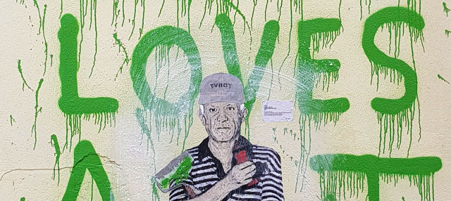 Tour del grafiti por Málaga