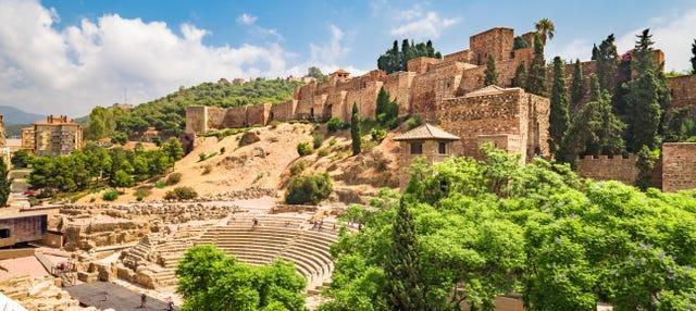 Visita guiada por la Alcazaba y el Teatro Romano