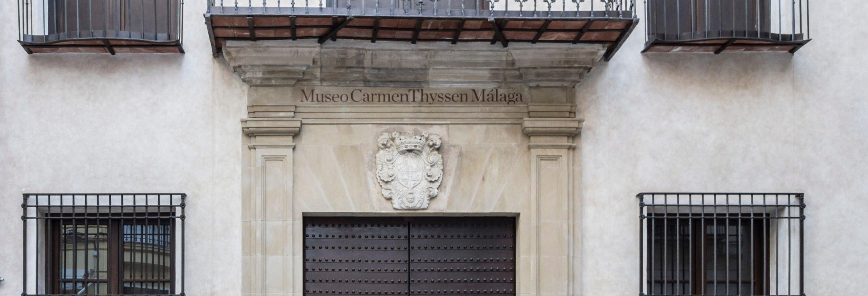 Visita guiada por el Museo Carmen Thyssen Málaga