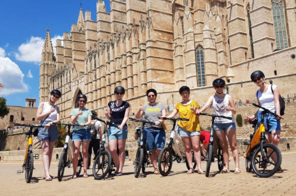 Bikes by the cathedral