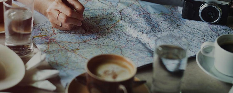 Planeje sua viagem