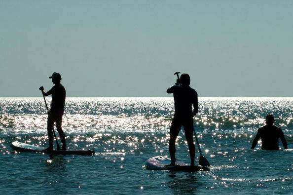 Trying Stand Up Paddle