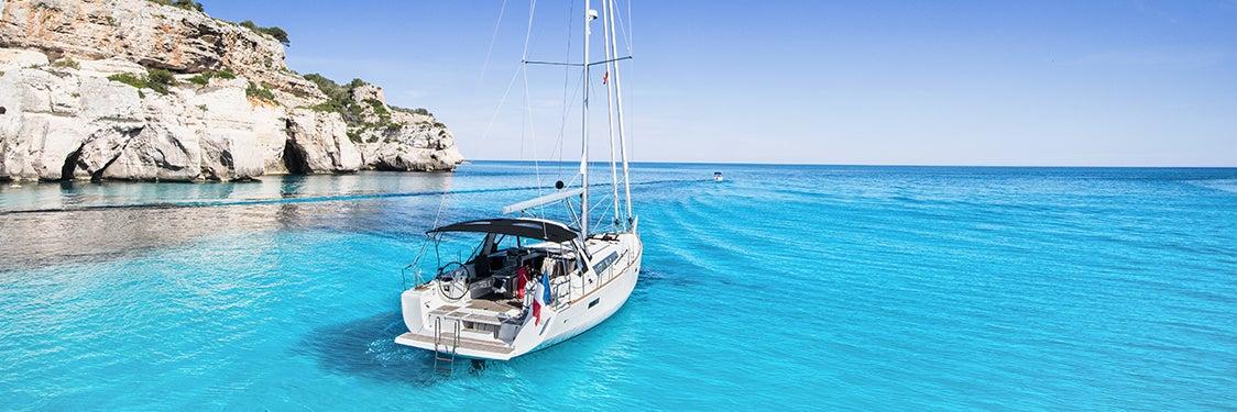 Paseos en barco en Menorca