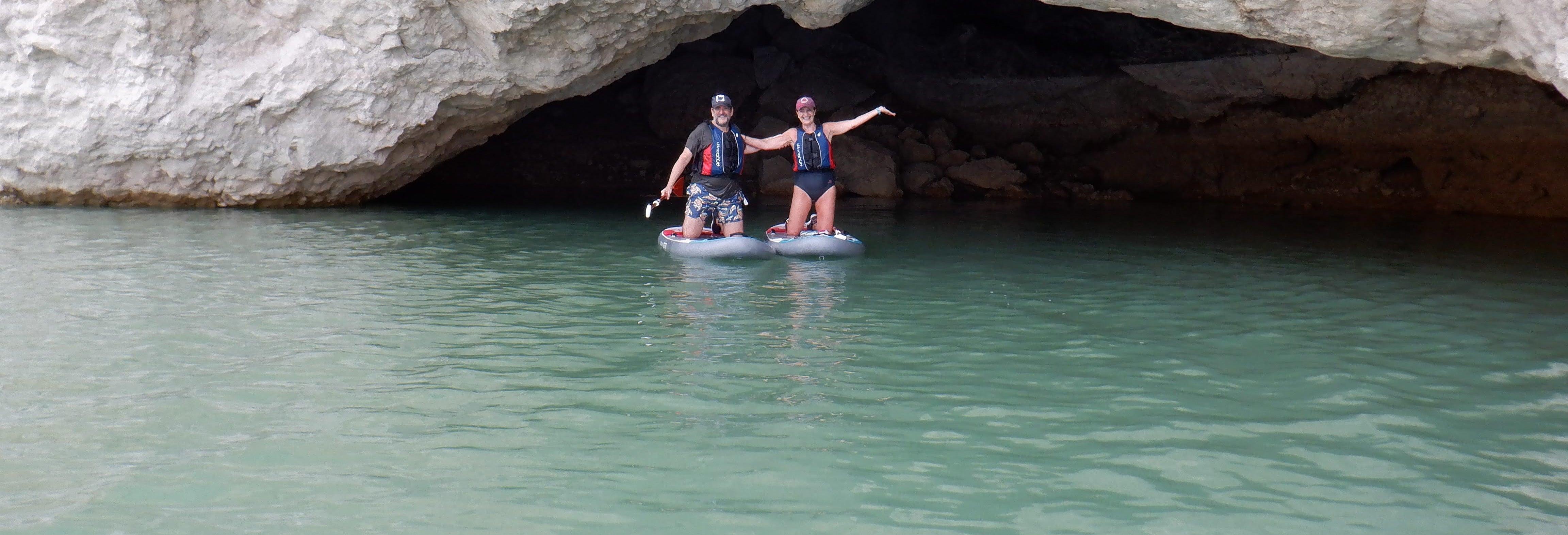 Paddle dans le Réservoir la Cierva